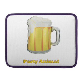 Beer drinkers products sleeve for MacBook pro