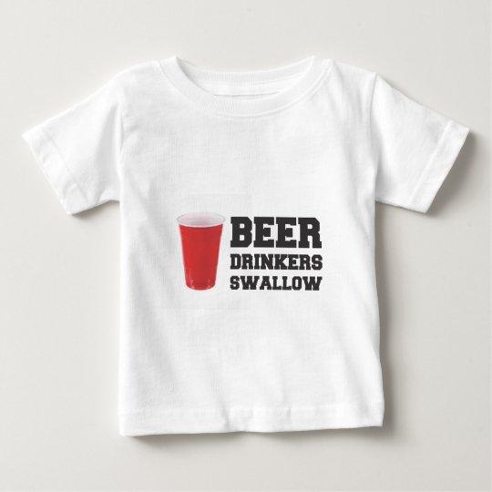 Beer Drinkers Swallow Baby T-Shirt