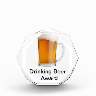 Beer drinking award