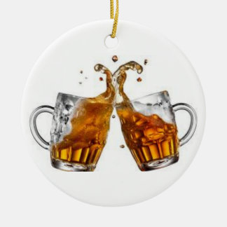 """""""BEER DRINKING BUDDY"""" CHRISTMAS ORNAMENT"""