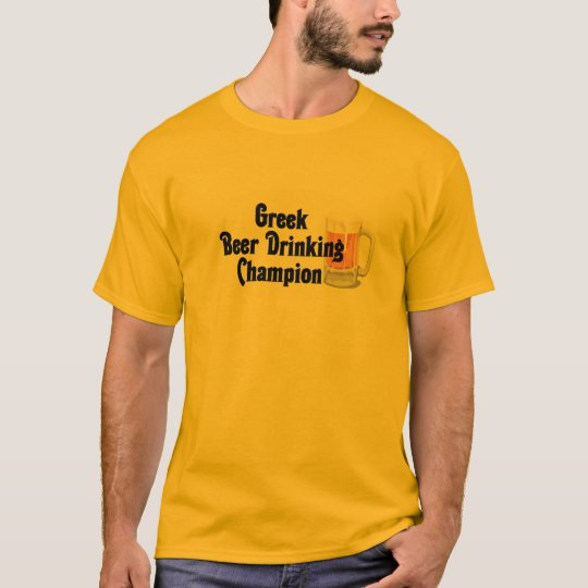 Beer Drinking Champion T-Shirt