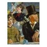 Beer Drinking - Edouard Manet Postcard