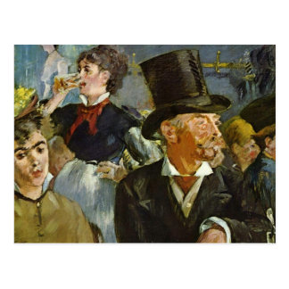 Beer Drinking - Edouard Manet Postcards