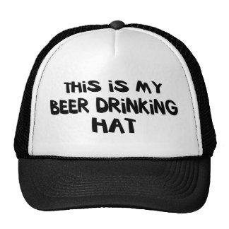 Beer Drinking Hat