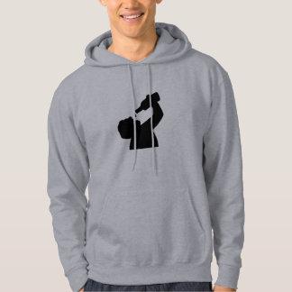 Beer drinking hoodie