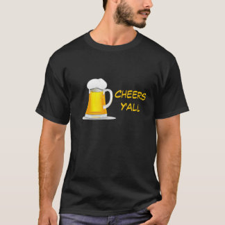 Beer drinking  t-shirt