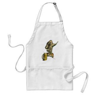 Beer Drinking Troll Aprons