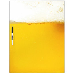 Beer Dry Erase Board