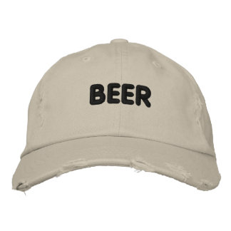 Beer Embroidered Baseball Hat