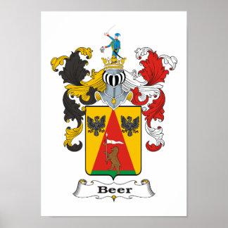 "Beer Family Hungarian Coat of Arms 11x15"" Print"