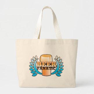 BEER FANATIC design Jumbo Tote Bag