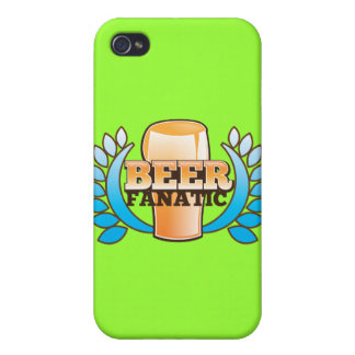 BEER FANATIC design Covers For iPhone 4