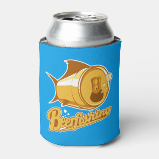 Beer & Fishing Can Cooler
