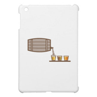 Beer Flight Keg Pouring on Glass Retro iPad Mini Cases