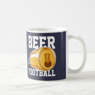 Beer & Football Coffee Mug