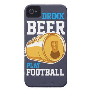 Beer & Football iPhone 4 Cover
