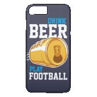 Beer & Football iPhone 7 Plus Case