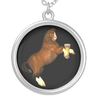 Beer For My Horse Necklace