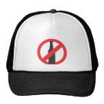beer-forbidden mesh hat