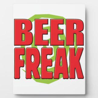 Beer Freak R Display Plaques