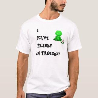 Beer Frog Facebook Friends T-Shirt