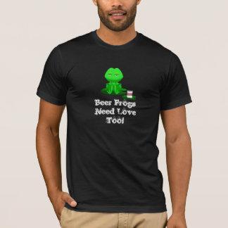 Beer Frog T Shirt