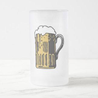 BEER FROSTED GLASS BEER MUG
