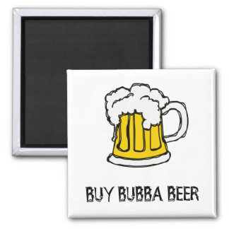 Beer! Frothy Bubbly Mug of Brew Fridge Magnets
