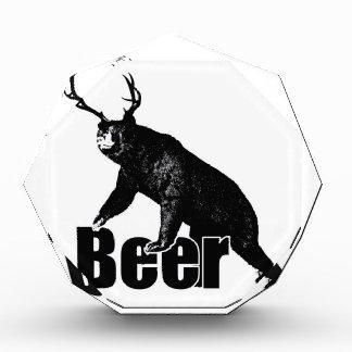 Beer fun acrylic award