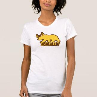 Beer? (fun bear w/ antlers logo) T-Shirt