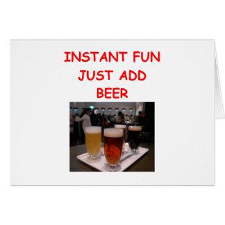beer fun card