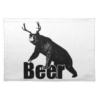 Beer fun placemat