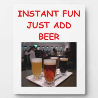 beer fun photo plaques