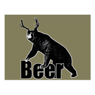 Beer fun postcard