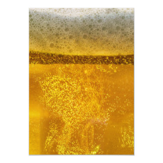 Beer Galaxy a Celestial Quenching Foam 5x7 Paper Invitation Card