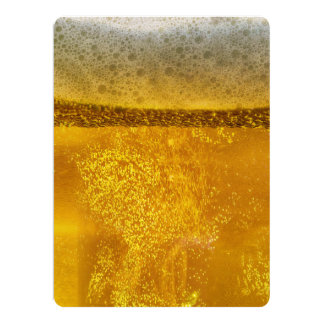 Beer Galaxy a Celestial Quenching Foam 6.5x8.75 Paper Invitation Card