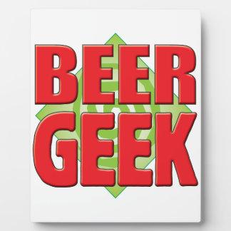 Beer Geek v2 Plaques