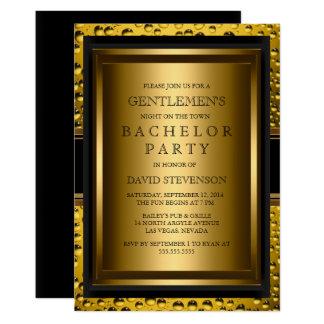 Beer Gentlemen's Bachelor Party Invite 🍻