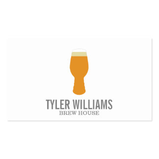 Beer Glass 2 Business Card