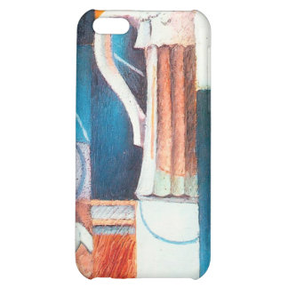 Beer Glass and Cards, by Juan Gris iPhone 5C Cases