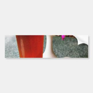 Beer Glass Bumper Sticker