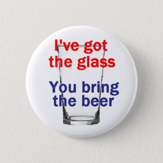 Beer Glass Button
