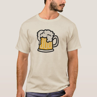 Beer glass froth T-Shirt