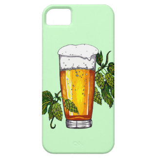 Beer Glass & Hops iPhone 5 Case