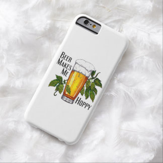 Beer Glass & Hops with Text Barely There iPhone 6 Case