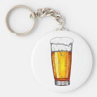 Beer Glass Key Chains