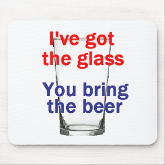 Beer Glass Mousepad