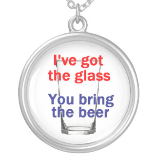 Beer Glass Necklace