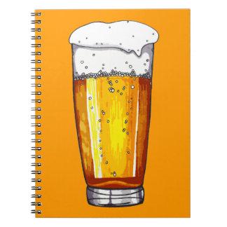 Beer Glass Notebook