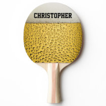 Beer Glass Personalize Ping Pong Paddle